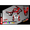 kit gráfico Honda brós 160cc metal mulisha, completo, laminado