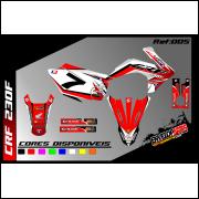 kit gráfico Honda crf 230cc, completo, laminado