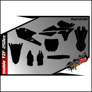 Molde yamaha yzf 250 ano: 2014/17 em CDR(Corel Draw) completo.